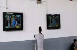 TVs at socialising area to bring outdoor telecast entertainment to residents